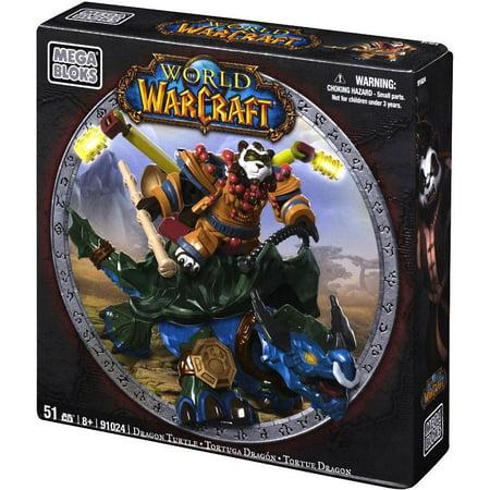 Mega Bloks World of Warcraft Dragon Turtle and Windpaw Play
