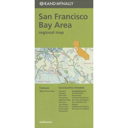 - Folded Map San Fran Bay CA Regional (Paperback)