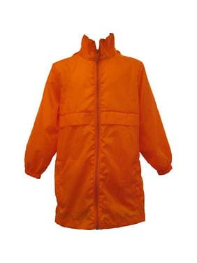 Totes TBP500 BOYS Packable Rain Jacket Orange Size 5/6