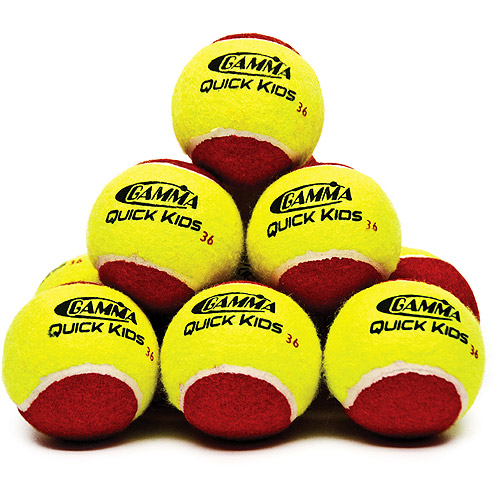 Gamma Quick Kids 36' Tennis Training Ball 12 pack by Gamma