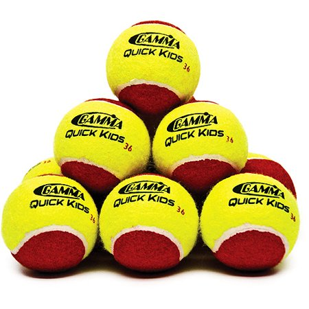 Gamma Quick Kids 36 Tennis Training Ball 12 Pack