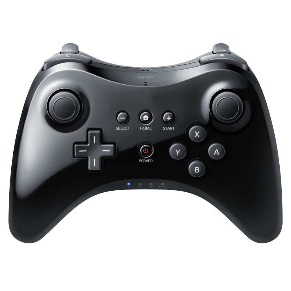 TekDeals Wireless Pro Bluetooth Controller Gamepad Joypad Joystick Remote for Nintendo Wii U Black