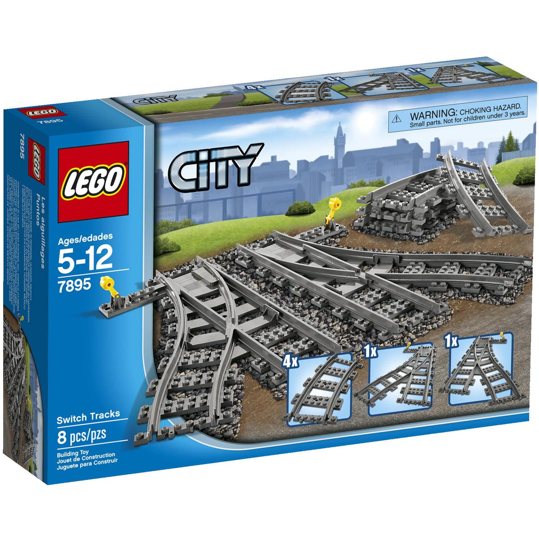Lego City Switch Tracks 7895 Walmart