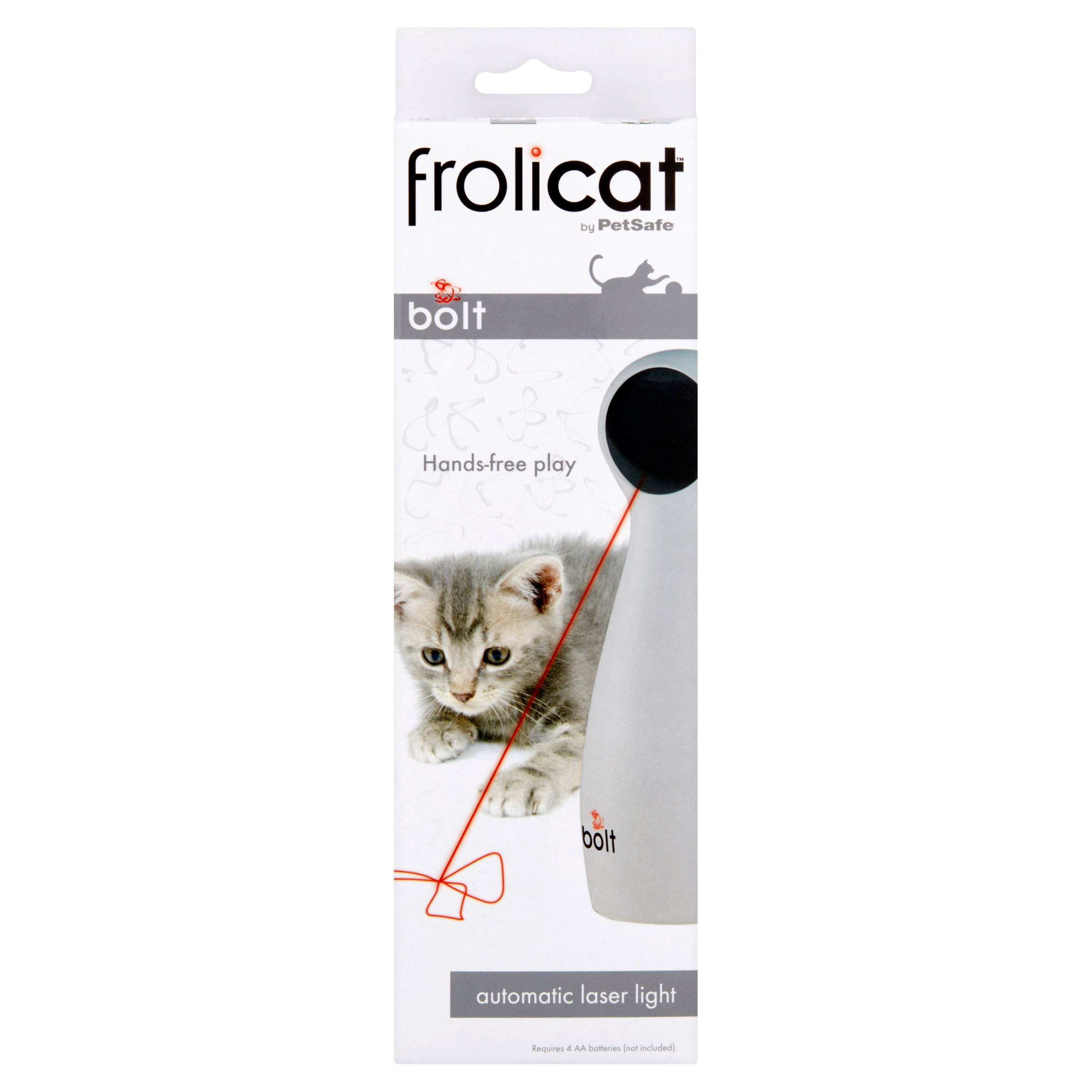 FroliCat Bolt Interactive Laser Light Cat Toy by Radio Systems Corporation
