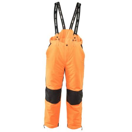 Mossy Oak Blaze Orange Men S Insulated Convertible Bib