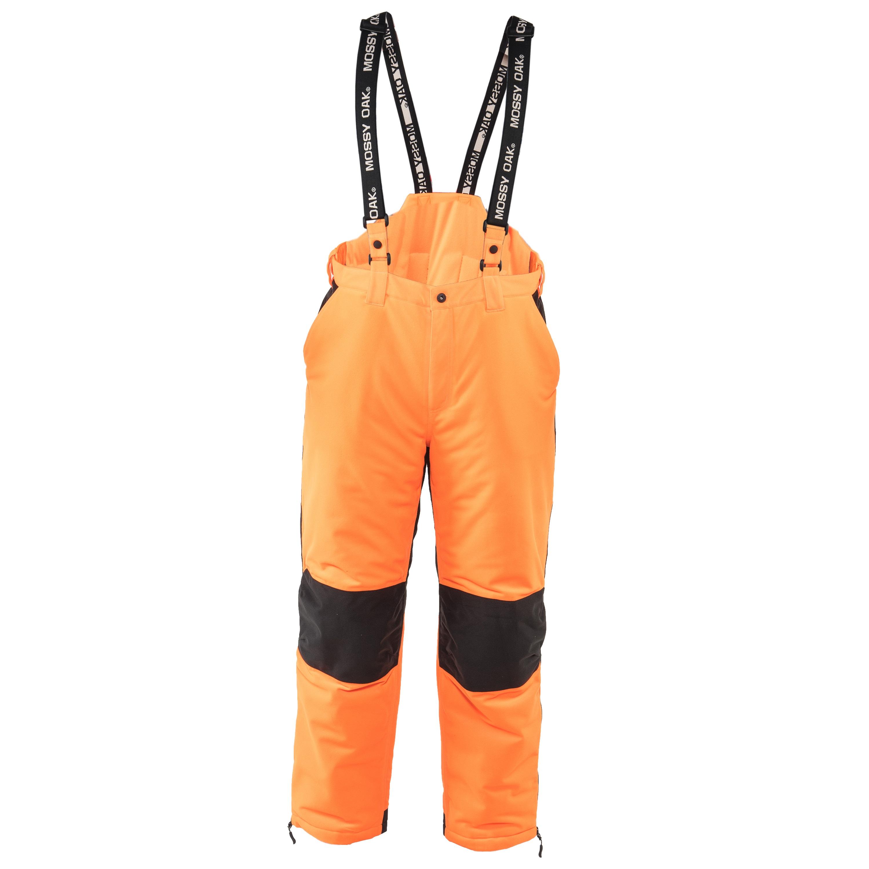 Mossy Oak Blaze Orange Men's Insulated Convertible Bib