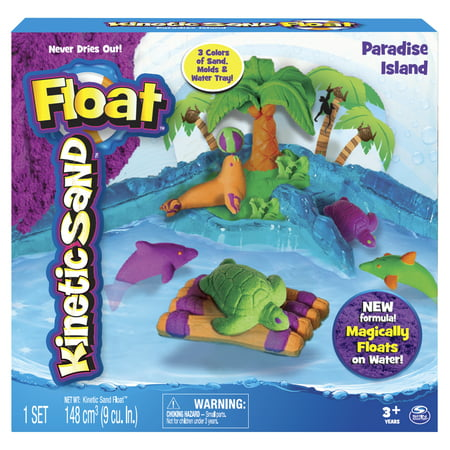 The One and Only Kinetic Sand Float, Paradise -