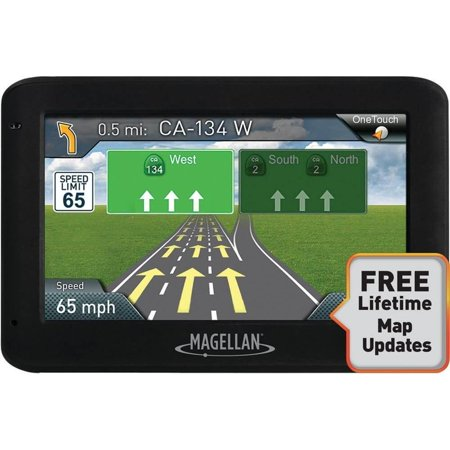 Magellan Rm2525sgluc Roadmate 2525 Lm 4 3  Gps Device With Free Lifetime Maps