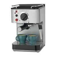 Cuisinart EM-100 5-Bar Espresso Maker, Stainless Steel (Certified Refurbished)