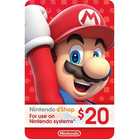 eCash - Nintendo eShop Gift Card $20 (Email - Halloween City Coupon 20 Off