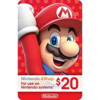 eCash - Nintendo eShop Gift Card $20 (Digital Download)