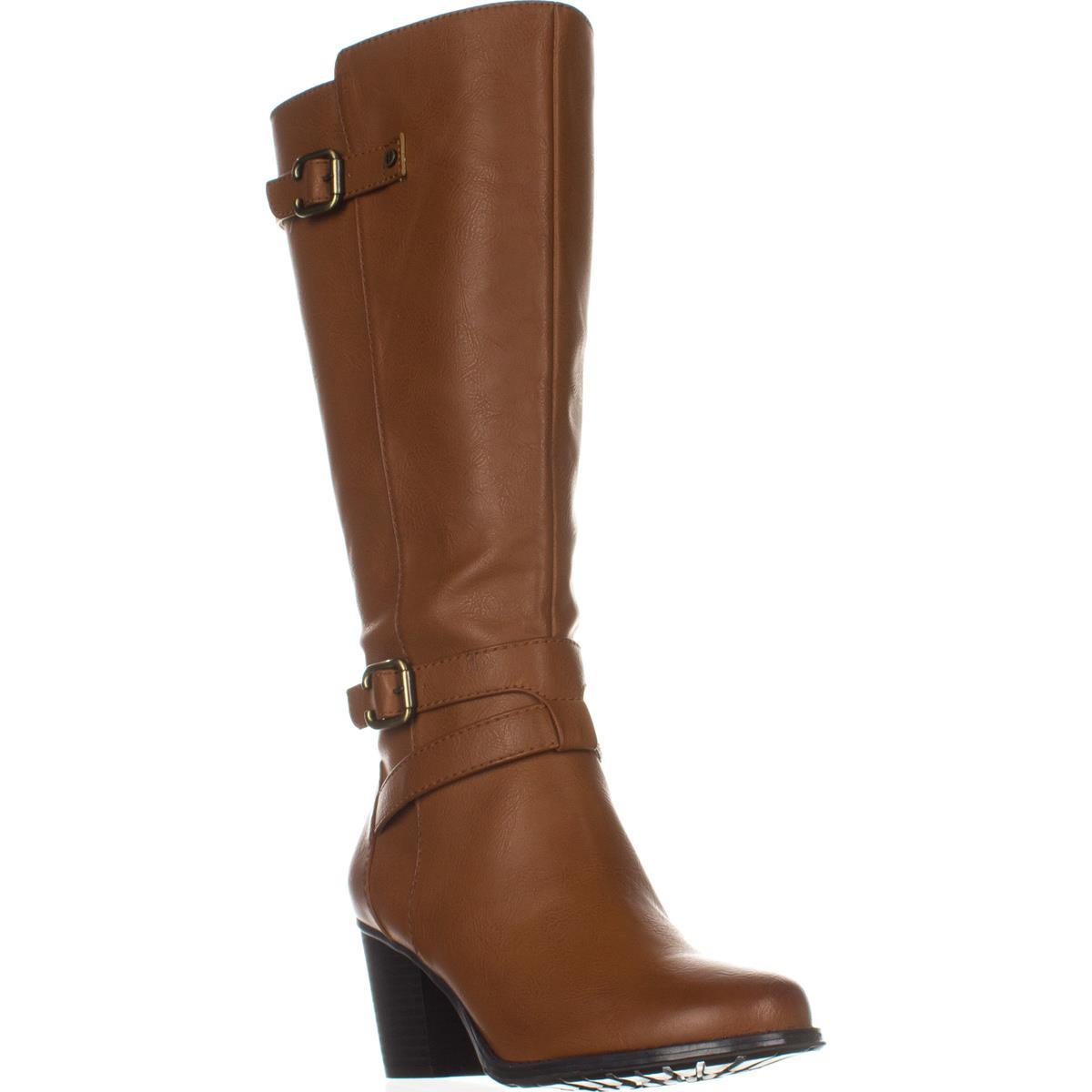Womens naturalizer Tricia Wide Calf Knee High Boots, Camel