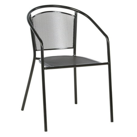 Image of Alfresco Home Martini Cafe Stackable Dining Chair - Set of 4