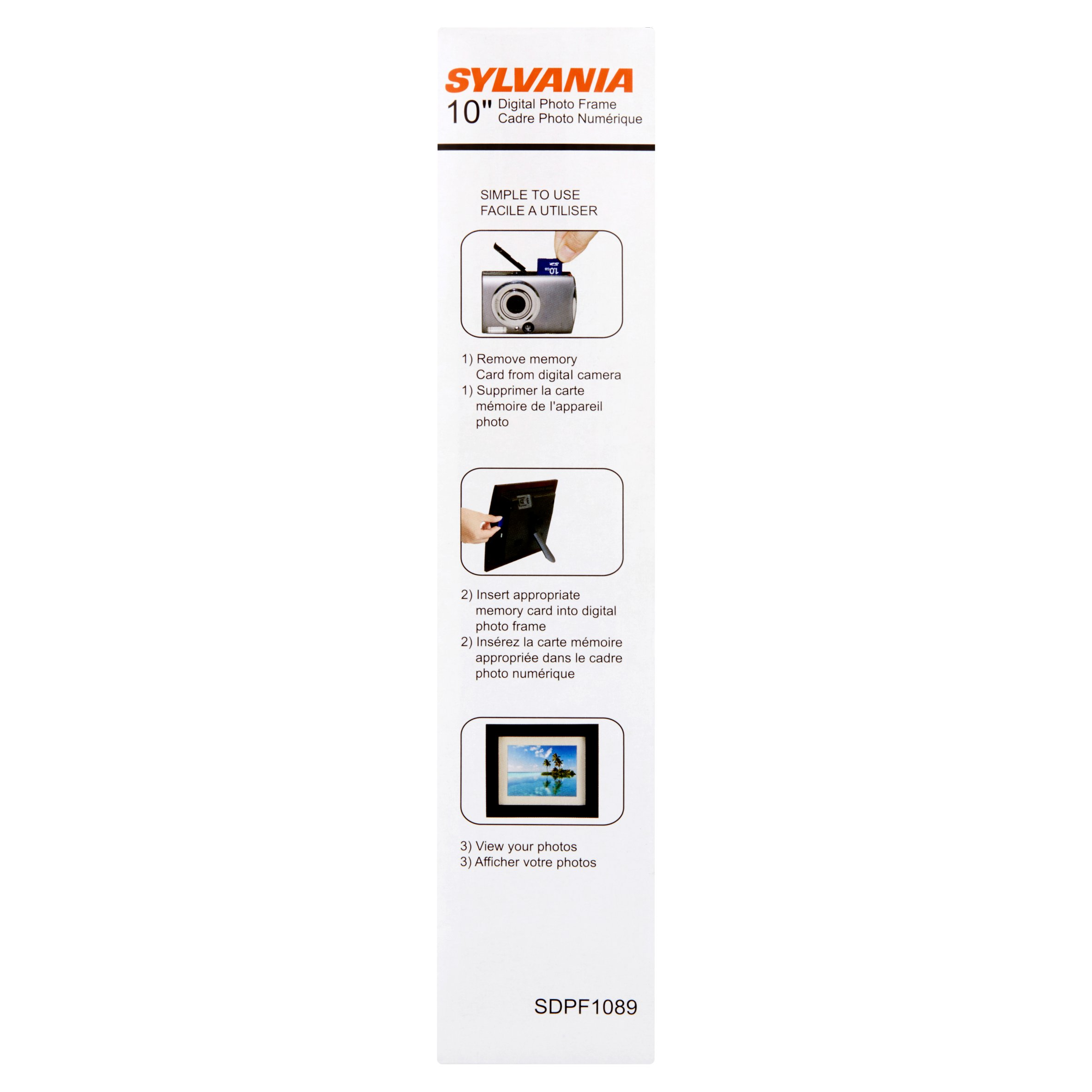 Sylvania 10 Multi Media Photo Frame Walmartcom