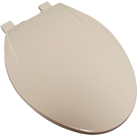 Plum Best White Elongated Plastic Toilet Seat