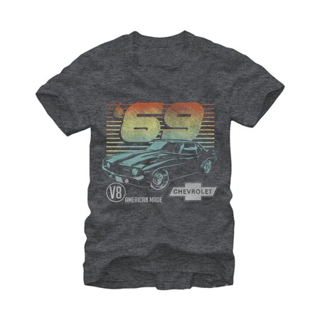 General Motors Chevrolet 69 Camaro Mens Graphic T Shirt