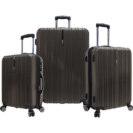 Traveler's Choice Tasmania 3-Piece Expandable Spinner Luggage