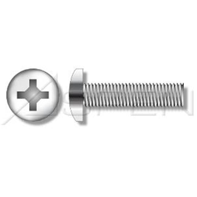 Aspen Fasteners 0.25-20 x 0.625 in. Pan Phillips Machine Screws - 18-8 Stainless Steel - 1200 Pieces