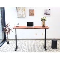 """Electric Height Adjustable Desk, Manager Style, 30""""x60"""", Multiple Colors"""