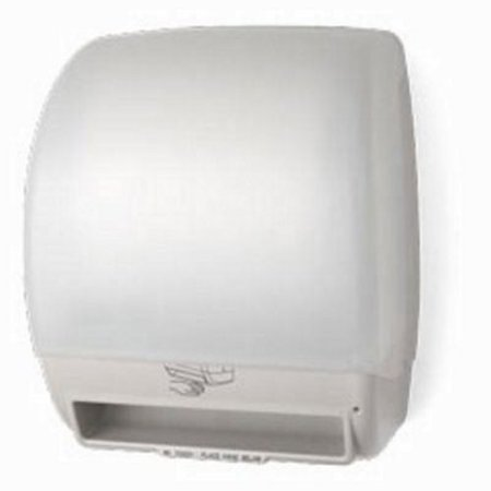 Electra Automatic Touch-Free Paper Roll Towel Dispenser, White (PFO-TD0245-03P) Touch Free Towel Dispenser