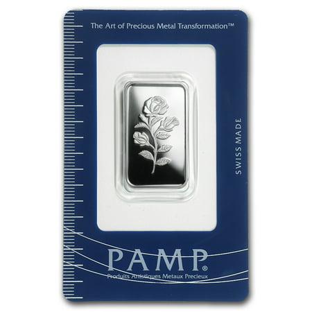 10 gram Silver Bar - (Rosa, In Assay)