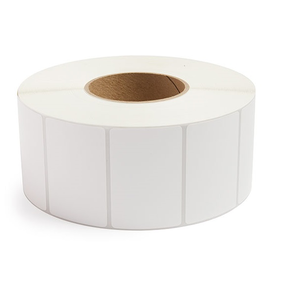 "Required Ribbon 4/"" x 2/"" Thermal Transfer Label 3/"" Core 8 Rolls 23000 Labels"