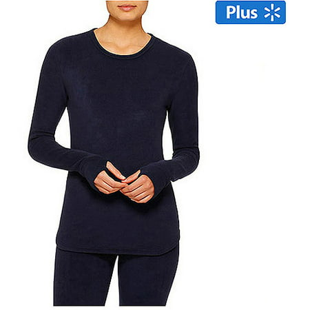 Women's Stretch Fleece Warm Underwear Long Sleeve
