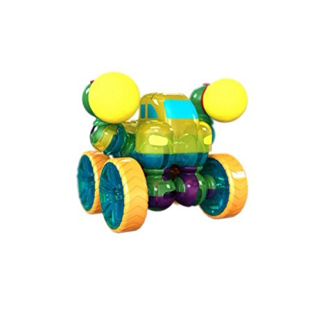 Build A Truck >> Lite Poppers Stem Learning Build A Truck Kit Led Light Build And Play Model Car Construction Toy With Usb Powered Led Base