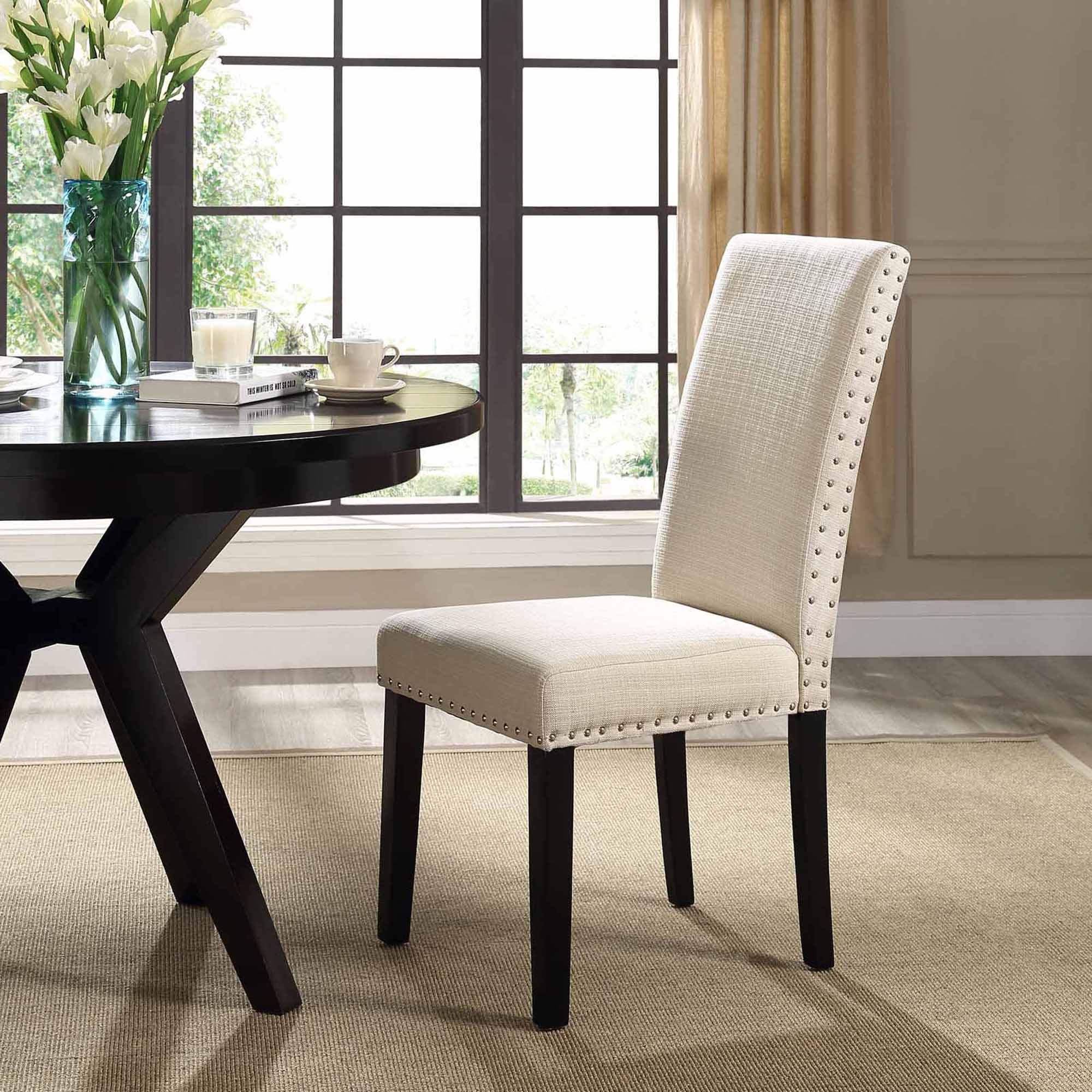 Modway Parcel Upholstered Dining Side Chair, Multiple Colors   Walmart.com