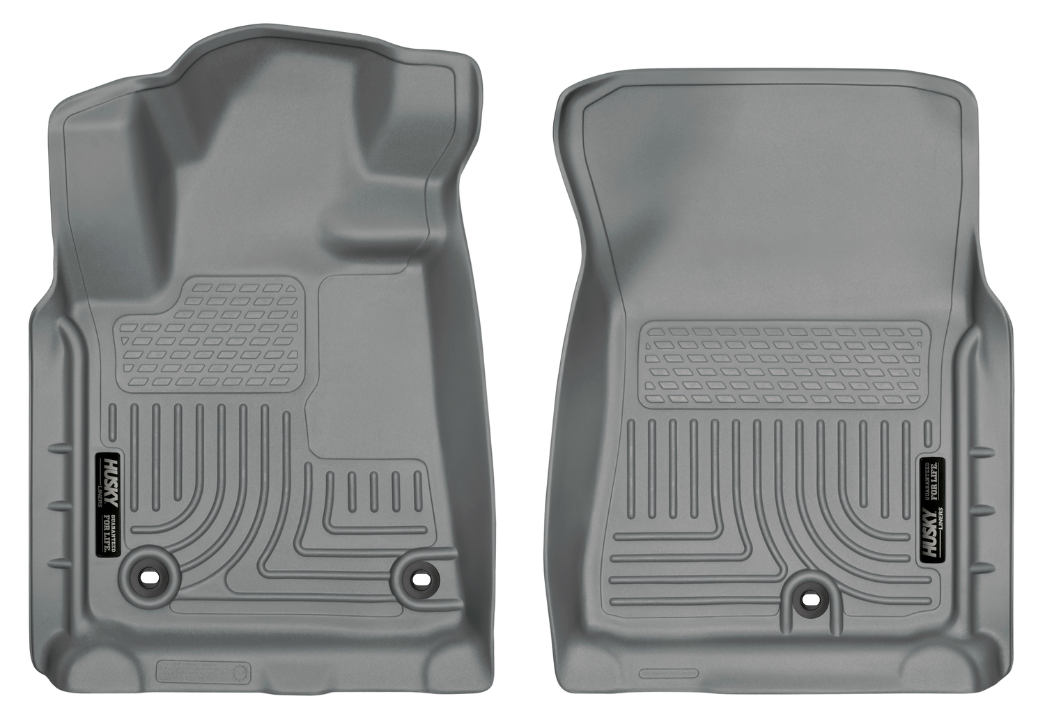 Tan Husky Liners 19663 WeatherBeater Floor Liner