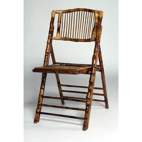 Advanced Seating Bamboo Folding Chair (Set of 4)