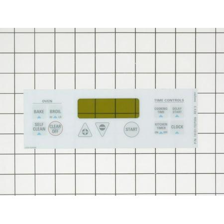lock Plate-White (Ge Range Electronic Clock)