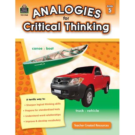 Analogies for Critical Thinking Grade 5 (Critical Thinking Activities For Middle School Students)