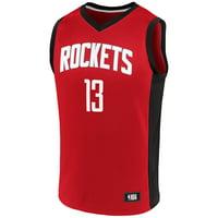 James Harden Houston Rockets Fanatics Branded Rival Baseline Jersey - Red