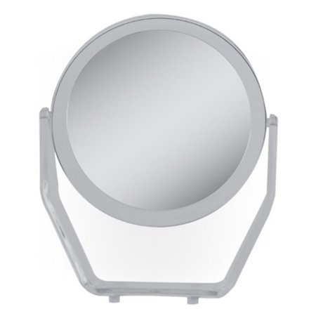 ZV08 Zadro Dual-Sided Swivel Vanity Mirror with 1x & 8x Magnification, Acrylic