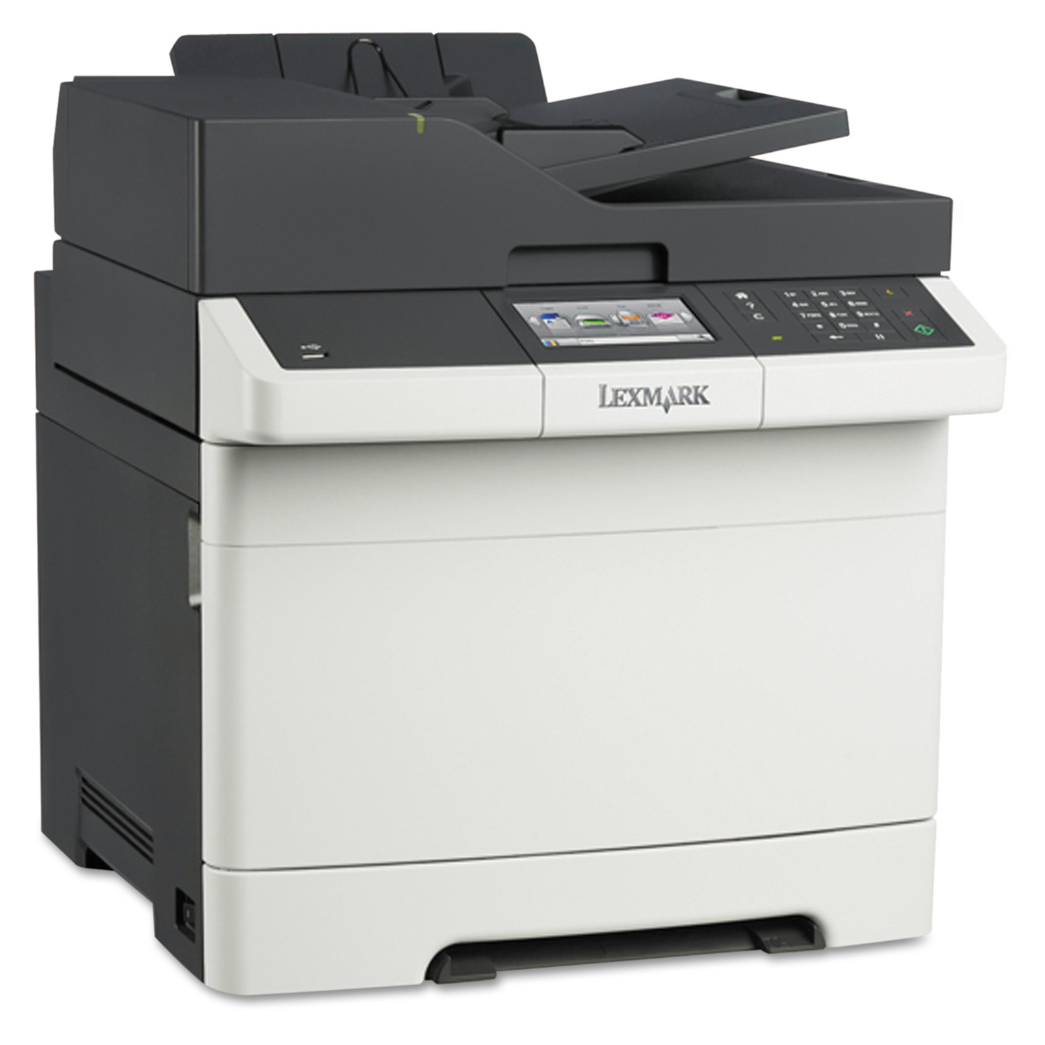 Lexmark CX410de Multifunction Color Laser Printer, Copy/Fax/Print/Scan