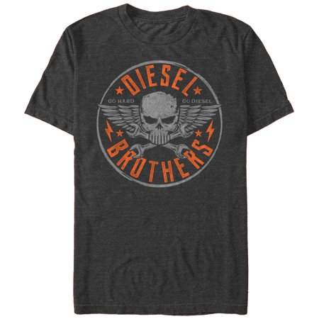 Diesel Brothers Men's - Diesel Brothers Skull and Wrench (Vin Diesel Clothes)