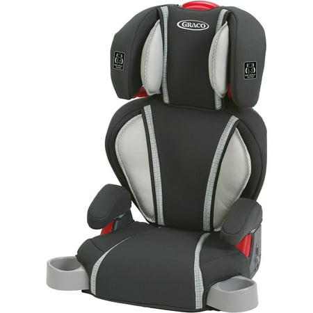 graco highback turbobooster booster seat glacier. Black Bedroom Furniture Sets. Home Design Ideas