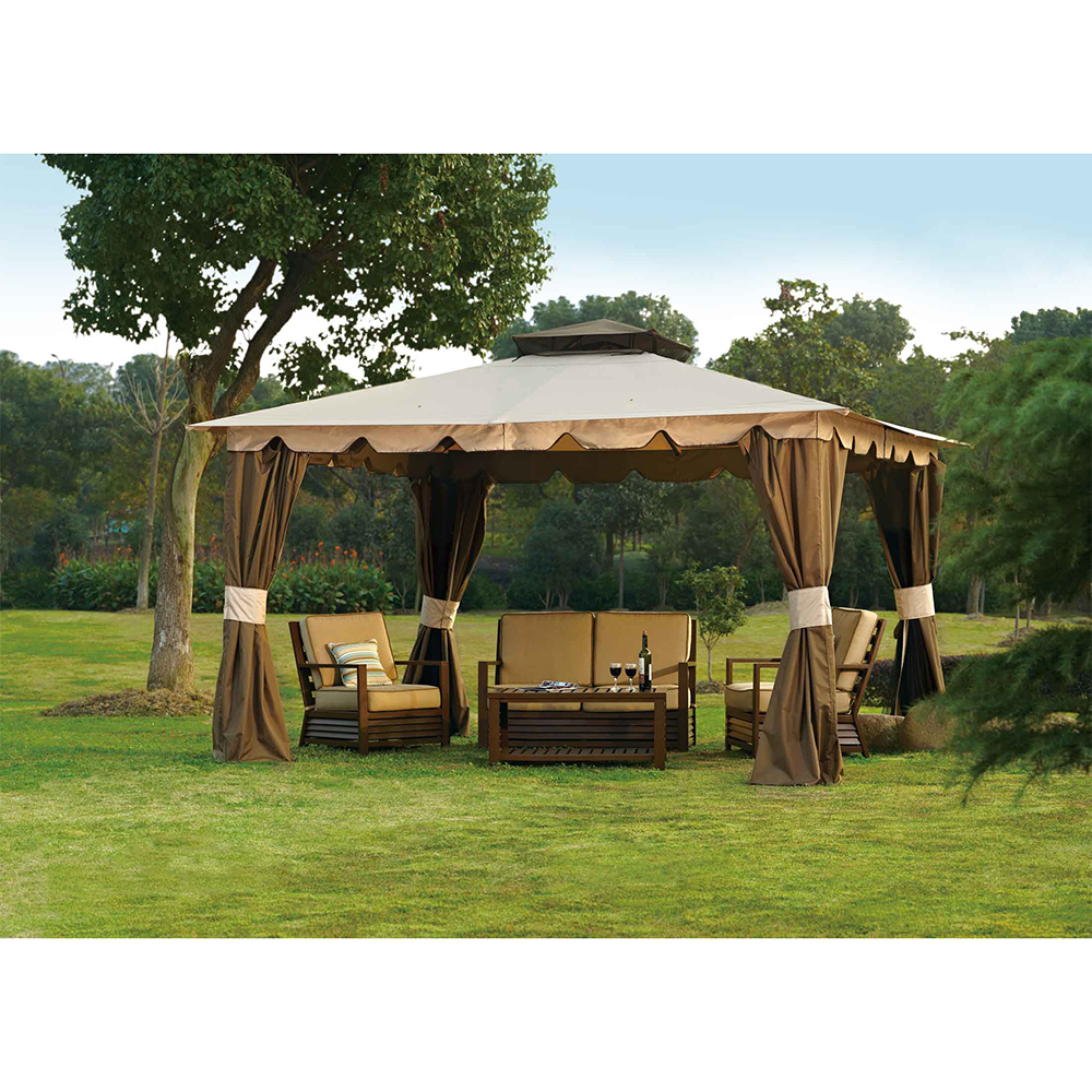 Sunjoy Replacement Canopy set for L-GZ215PST-5B 10X12 Hampton Gazebo