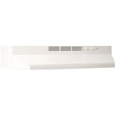 Broan 24 Inch Under Cabinet Non Ducted Range Hood White Walmartcom