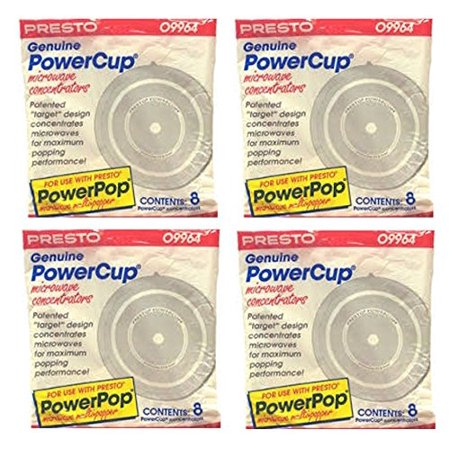 Trunk Popper - 32 Genuine Powercup Power Cup Microwave Popcorn Popper Concentrator-09964, 32 Presto Genuine By Presto