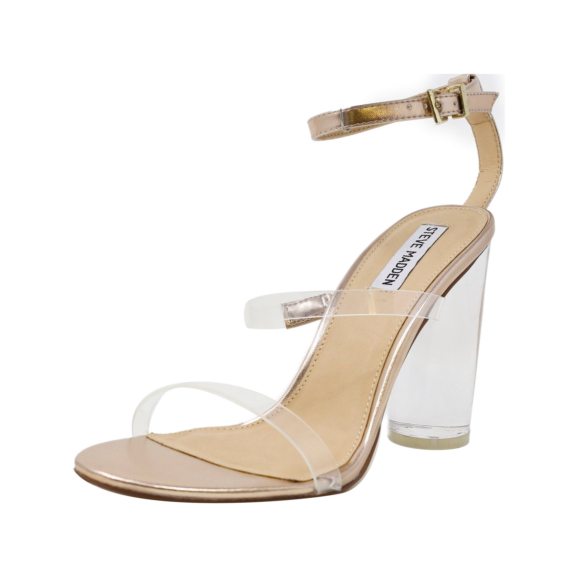 8a5d8212913 Steve Madden Women s Carnival Rose Gold Ankle-High Leather Pump - 5M ...