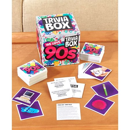 90's Theme Trivia Box Games - - Beach Themed Games