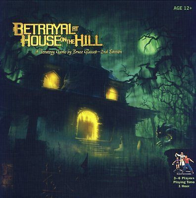 Offering Betrayal At House On The Hill 2nd Edition Board Game, 3-6 Players -- New [Istilo237073] by GSS