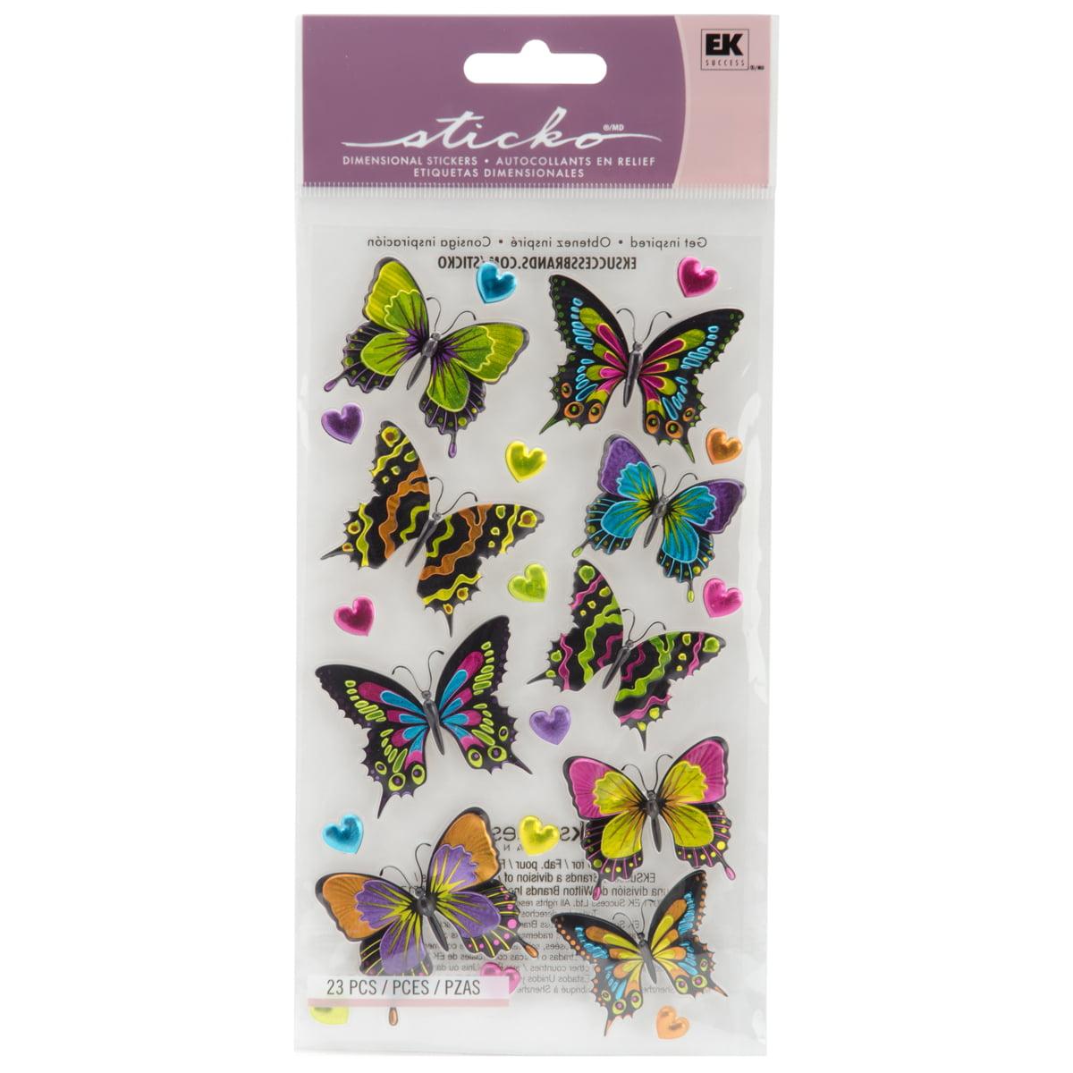 Sticko Stickers-Dancing Butterflies