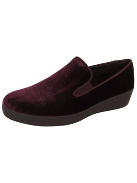 fdc5df3d7 Product Image Fitflop Womens Superskate In Velvet Loafer Shoes