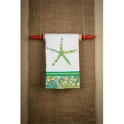 Glory Haus 7040510 Starfish Color Tea Towel Pack of 2