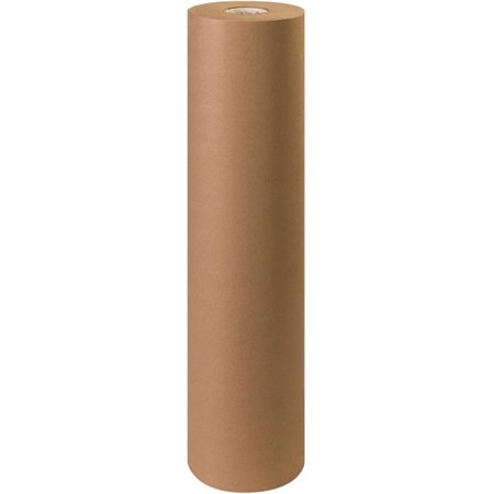 Box Partners Bp3640k 36 In  Kraft Unbleached Butcher Paper Rolls For 40 Lbs Basis Weight