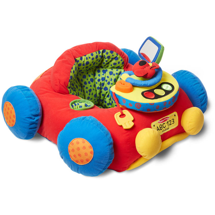 Melissa & Doug Beep-Beep and Play Activity Center Baby Toy