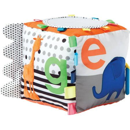 Manhattan Toy Activité douce Cube Bébé Jouet